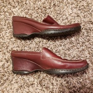 Sofft Chocolate Brown Loafer Mules